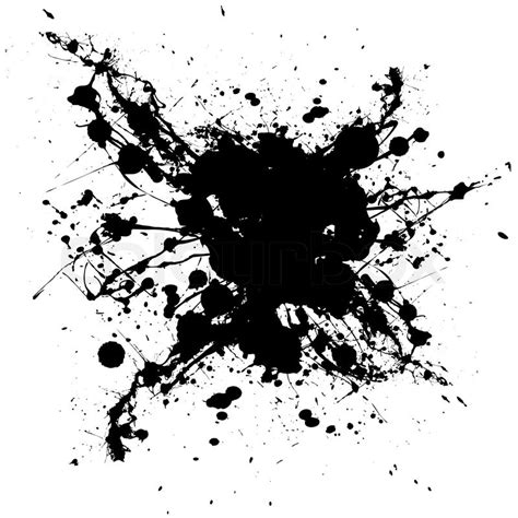 ink pattern black and white black and white ink splat with random shapes and dirty