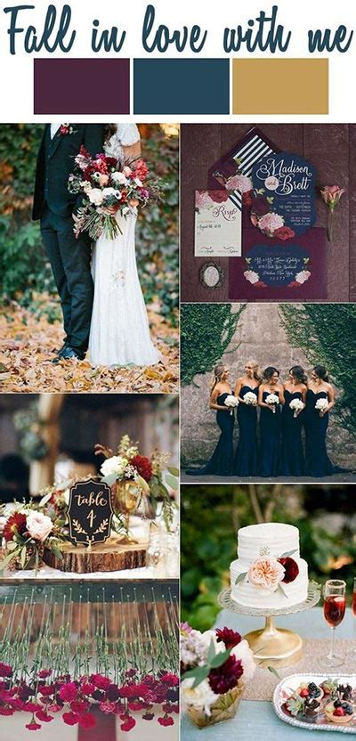 wedding colour themes autumn and winter weddings best 10 fall wedding ideas