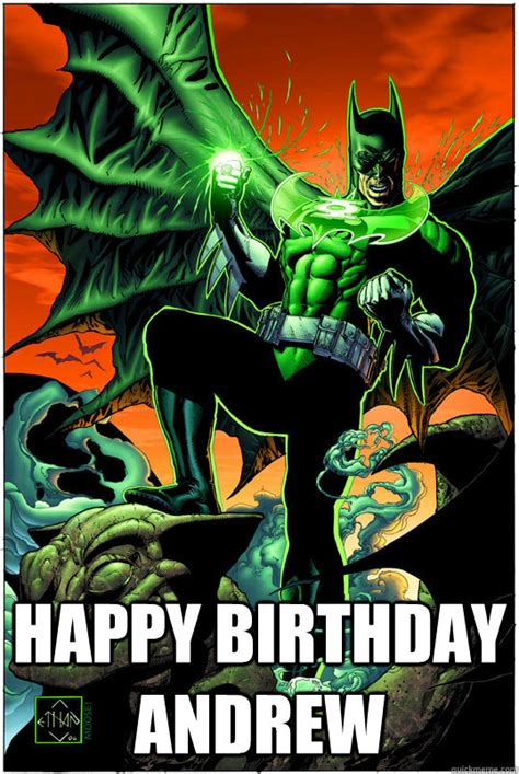 Batman Happy Birthday Meme - happy birthday andrew gl batman quickmeme