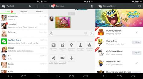 wechat android wechat messenger for android android