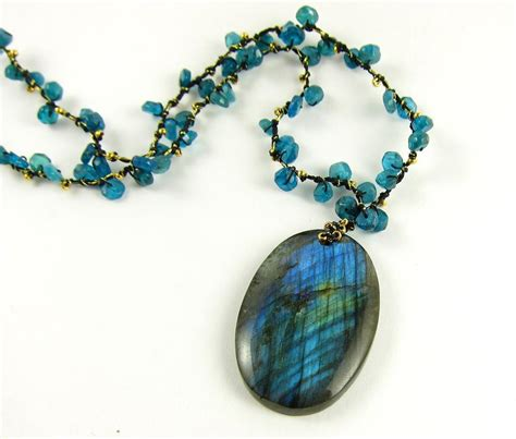 jewelry with you to see blue labradorite necklace by ke
