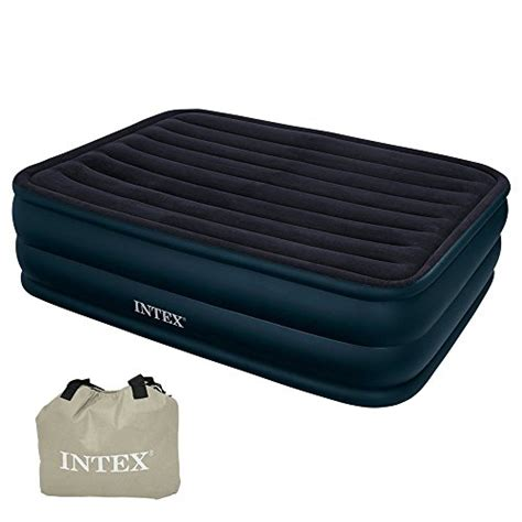 air bed in walmart intex 66718 raised queen air bed with built in electric