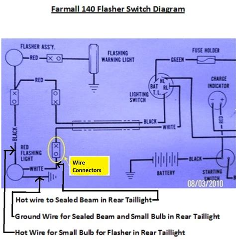 farmall h wiring diagram for 12v wiring diagram with
