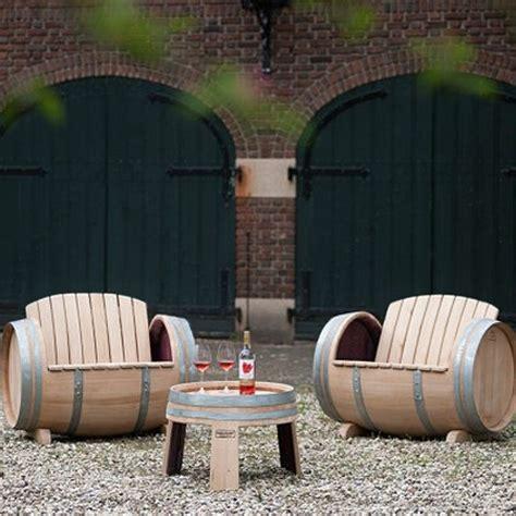 home dzine garden ideas garden furniture made from wine