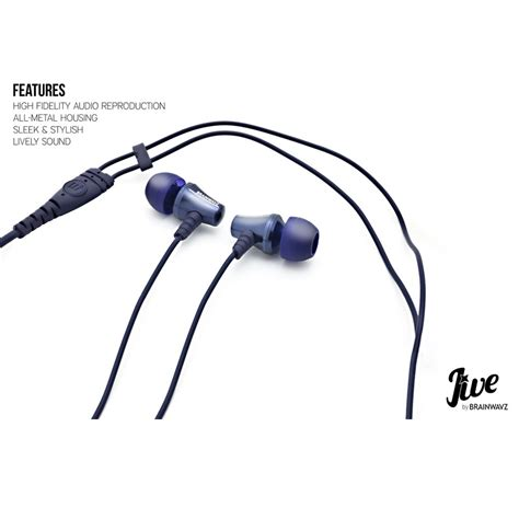 brainwavz jives earphones with microphone android