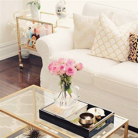 glass coffee table decorating ideas 20 super modern living room coffee table decor ideas that