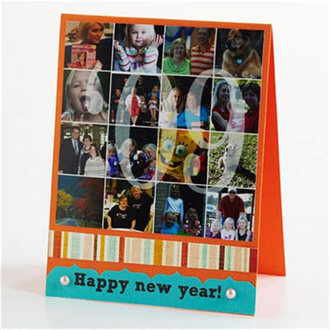 Card Collage Ideas - scrapbooking
