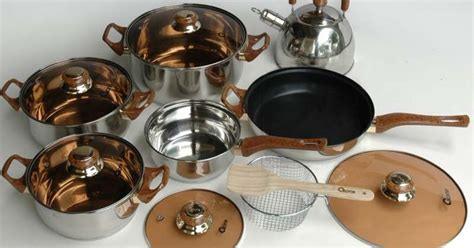 Panci Stainleessteel Homecook Cookware 4pcs Harga Distributor ox 933 oxone eco cookware set risa shop fashion kitchen collection