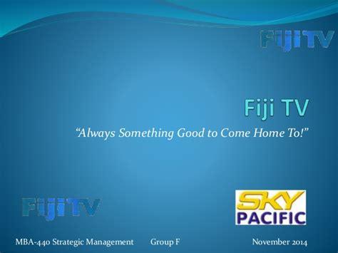 Usp Mba Program Fiji by Fiji One Competitive Strategy Mba440 Strategic