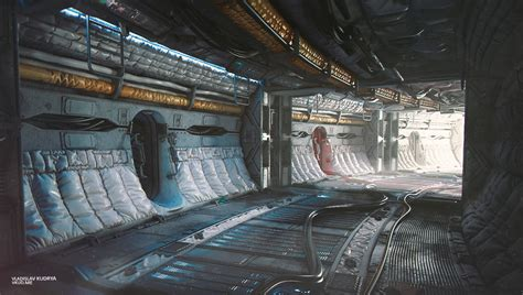 Sci Fi Interior by The World Of The Future