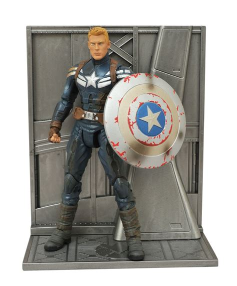 Marvel Select Captain America Disney exclusive unmasked captain america marvel select figure to be released in may vinylmation world