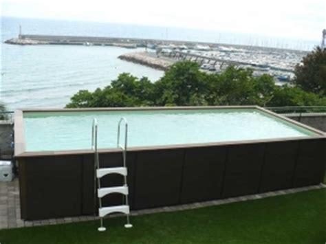 piscine hors sol rectangulaire 623 piscine hors sol inox