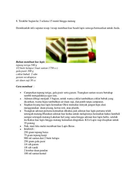 Pelumer Coklat Isi 4 resep kue bakpao isi coklat
