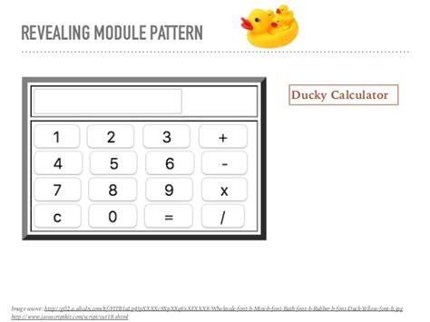 revealing module pattern node js revealing module pattern in javascript phpsourcecode net