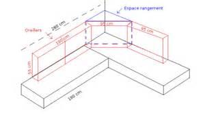 canap 233 lit d angle fait le de fips