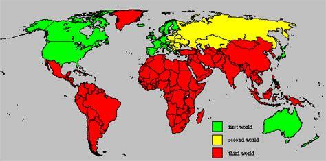 third world countries in uwec geog111 vogeler three world model