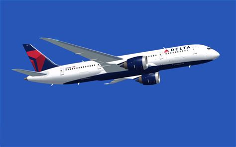 delta airlines boeing 787 8 for fsx