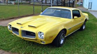 Pontiac Firebird Yellow Gold 1970 Pontiac Firebird Formula 400
