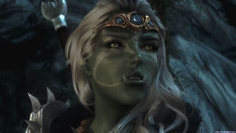 skyrim orc female face pin by tristan s whitcomb on dumbldain pinterest