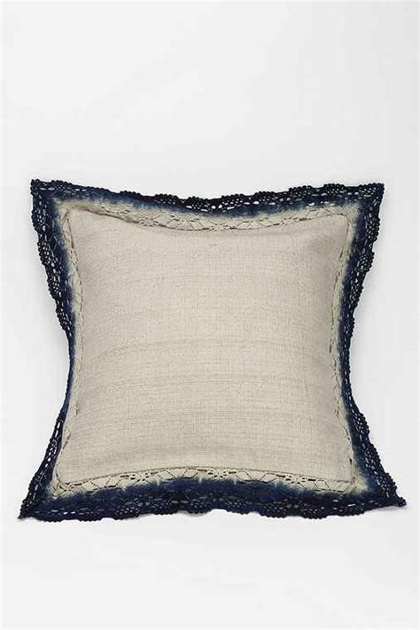 Noodle Pillow by Noodle Dip Dye Lace Pillow Outfitters