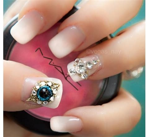 moon shape ombre glitter nail art pinterest peacock nail art quinceanera ideas