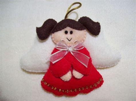 adornos de navidad con fieltro fotos manualidades foto 5