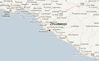 Ixtapa Mexico Map by Zihuatanejo Location Guide