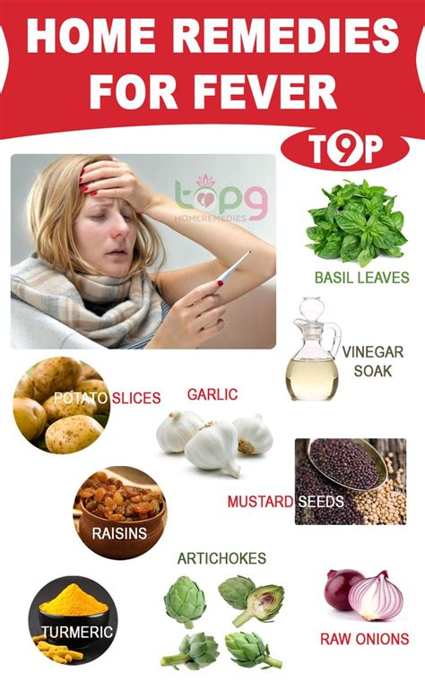 top 9 home remedies for fever herbal medicine and home