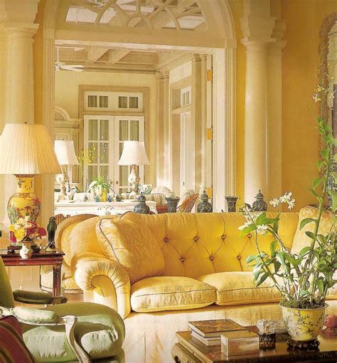 Yellow Living Room Decor Eye For Design How To Create Beautiful Yellow Rooms
