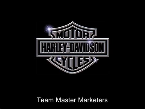 harley davidson marketing