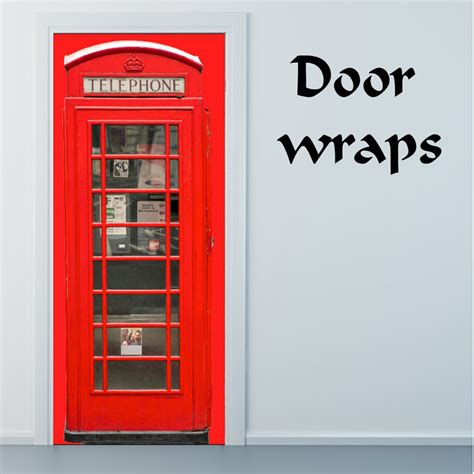 Door Wraps telephone box door wrap rm wraps