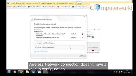 resetting wifi windows 7 how to fix wireless network connection doesn t have a