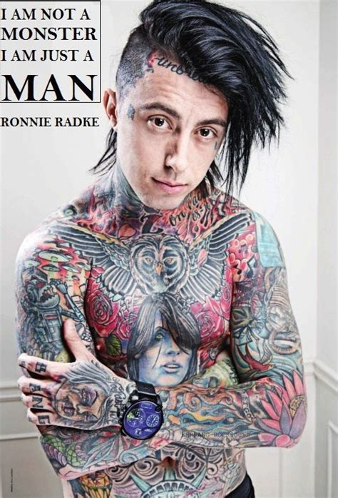 ronnie radke tattoos 17 best images about ronnie radke on can to