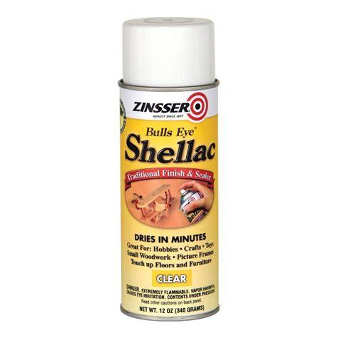 zinsser 12 oz clear shellac spray 408 the home depot