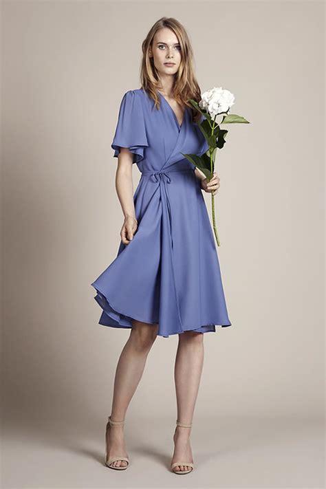 blue bridesmaids dresses    blue