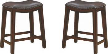 Two Tone Counter Stools by Rec Room Two Tone Upholstered Counter Height Stool Set Of