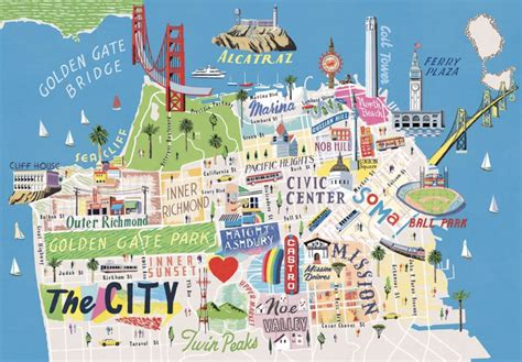 map of san francisco travel guide see san francisco in less than 24 hours