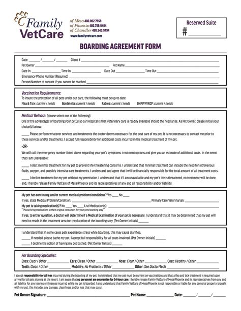 stron biz boarder agreement template