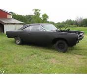 Seller Of Classic Cars  1968 Plymouth GTX Black/Red