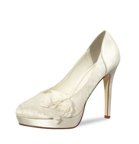 Satin Schuhe Ivory by Ivory Brautschuh Quot Mimosa Quot Satin Ivory Auslaufmodell