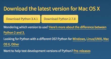 tutorial python mac os x how to upgrade your mac to python 3 the mac observer