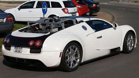 next bugatti veyron going hybrid adding power