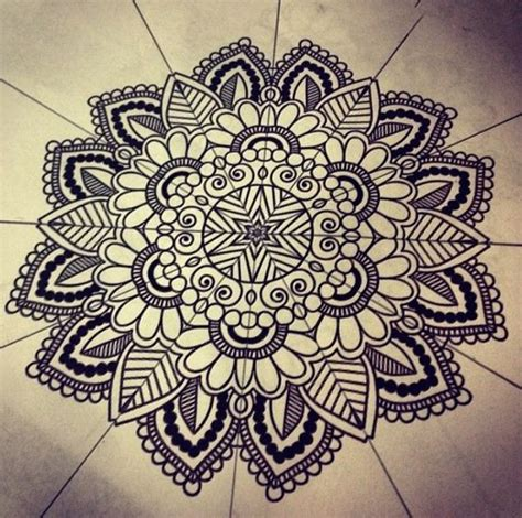Pattern Mandala Drawing | how to draw mandala patterns mandala pinterest
