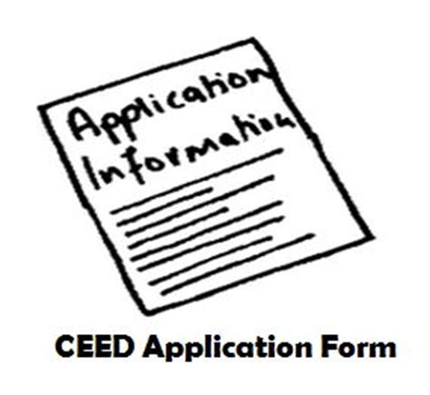 Iit Bombay Mba Application Form 2017 by Ceed 2018 Application Form Registration