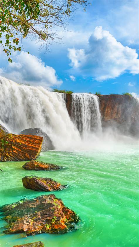 wallpaper waterfall  hd wallpaper beautiful dry nur