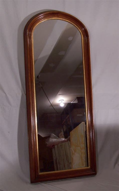black mirror american 8333 american black walnut victorian tall wall mirror