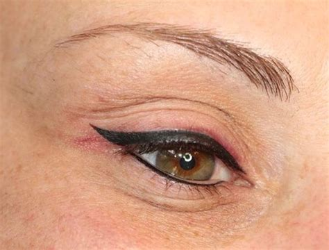 lip liner tattoo infection image result for permanent eyeliner colors brows