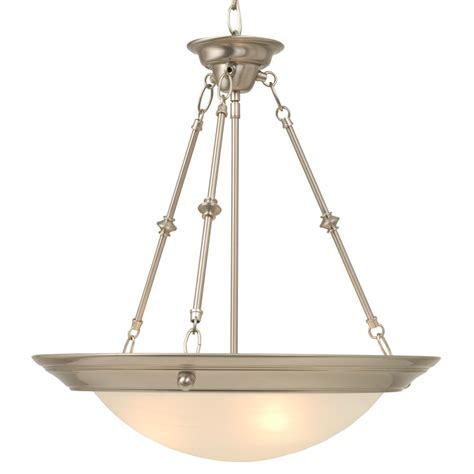 Bowl Pendant Lighting Hanging Pendant With Alabaster Glass Bowl Ebay