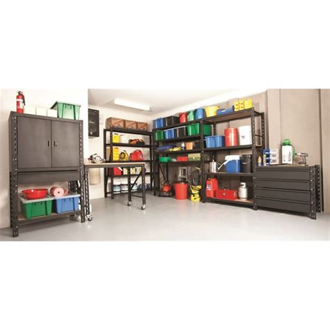 Rack It Shelving System by Rack It 1000kg 150 X 900 X 600mm Drawer Kit Black