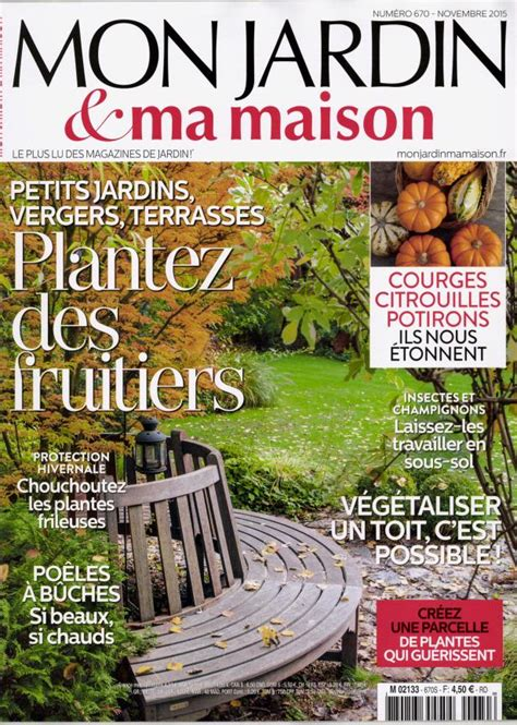 magazine mon jardin ma en commande sur zepresse fr